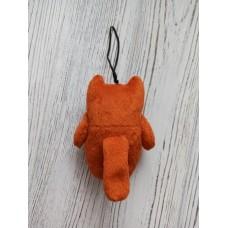 М'яка іграшка HandMade Підвіска-брелок Рудий котик 10см, (TI-010)