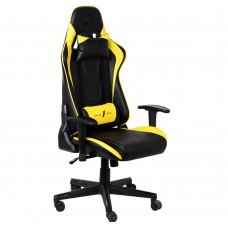 Кресло для геймеров 1stPlayer FK2 Black-Yellow