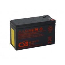 Аккумуляторная батарея CSB 12V 7.2AH (GP1272F2/04408) AGM Black