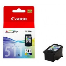 Картридж CANON (CL-511) CANON MP240/25/260/270/272/280/495/MX320/330 color (2972B007)