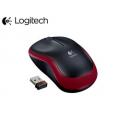 Мышь беспроводная Logitech M185 (910-002240) Red USB - 910-002240