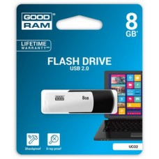 USB  8GB GOODRAM UCO2 (Colour Mix) Black/White (UCO2-0080KWR11)