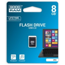 USB  8GB GOODRAM UPI2 (Piccolo) Black (UPI2-0080K0R11)