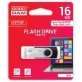 USB3.0 16GB GOODRAM UTS3 (Twister) Black (UTS3-0160K0R11) - UTS3-0160K0R11