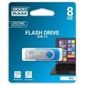 USB  8GB GOODRAM UTS2 (Twister) Blue (UTS2-0080B0R11) - UTS2-0080B0R11