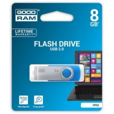 USB  8GB GOODRAM UTS2 (Twister) Blue (UTS2-0080B0R11)