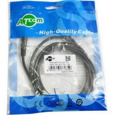 Аудио-кабель Atcom (17435) mini-jack 3.5мм(M)-mini-jack 3.5мм(M) 1,8м пакет