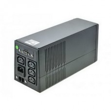 ИБП FSP EP-850, 850VA, Line Int., AVR, 4xIEC, USB, RJ11 (EP850) Б/у (без аккумулятора, гарантия)