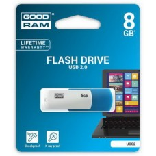USB  8GB GOODRAM UCO2 (Colour Mix) Blue/White (UCO2-0080MXR11)