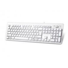 Клавиатура Genius SlimStar 130  White (31300726104) USB