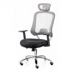 Кресло офисное Special4You Cancer Black Grey (E1007)