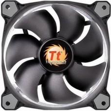 Вентилятор Thermaltake Riing 12 LED White (CL-F038-PL12WT-A), 120х120х25 мм, 3pin, черный - CL-F038-PL12WT-A