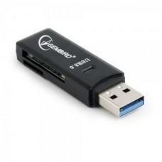 Кардридер Gembird USB3.0 UHB-CR3-01 Black
