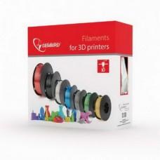 Филамент Gembird (3DP-CLN1.75-01) для прочистки сопла 3D-принтера, 1.75 мм, прозрачный, 100гр