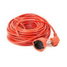 Удлинитель PowerPlant (PPCA10M20S1L) 1 розетка, 20 м, морозостойкий, оранжевый