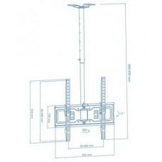 Кронштейн Walfix CM-41B (VESA400х400)