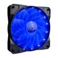 Вентилятор 1stPlayer A1-15LED Blue bulk; 120х120х25мм, 4-pin - A1-15LED Blue