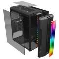 Корпус 1stPlayer R3-A-R1 Color LED Black без БП - R3-A-R1 Color LED