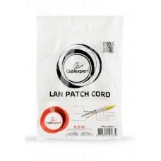 Патч-корд Cablexpert (PP6-0.5M/Y) FTP, литой, 50u