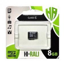MicroSDHC   8GB Class 4 Hi-Rali (HI-8GBSDCL4-00)