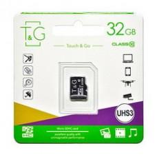 MicroSDHC  32GB UHS-I U3 Class 10 T&G (TG-32GBSD10U3-00)