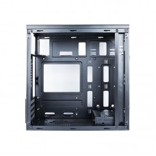 Корпус 1stPlayer D8-M-B1 Black без БП