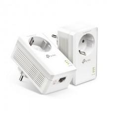Комплект адаптеров Powerline TP-Link TL-PA7017p KIT (AV2 1000, 1xGE, розетка, 2 pack)