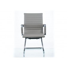 Кресло офисное Special4You Solano Office Artleather Grey (E5883)