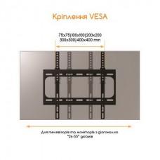 Кронштейн ACCLAB AL-FR40/T (1283126485794) (VESA400х400)