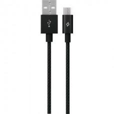 Кабель Ttec (2DK11S) USB - мicroUSB AlumiCable, 1.2м, Black
