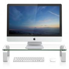 Подставка для ноутбука/монитора BeCover B6 Transparent (704672) - 704672