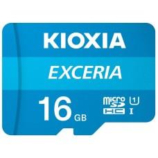 MicroSDHC   16GB UHS-I Class 10 Kioxia Exceria R100MB/s (LMEX1L016GG2)
