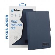 Чехол-книжка BeCover Slimbook для Pixus Joker Deep Blue (705636)