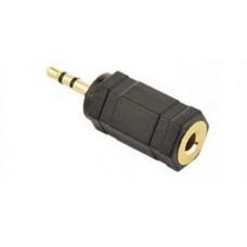 Адаптер Cablexpert (A-3.5F-2.5M) 2.5 mm M - 3.5 mm F, черный