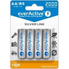 Аккумулятор everActive AA/HR06 Ni-MH 2000mAh (EVHRL6-2000) BL 4шт