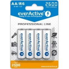 Аккумулятор everActive AA/HR06 Ni-MH 2600mAh (EVHRL6-2600) BL 4шт
