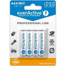 Аккумулятор everActive AAA/HR03 Ni-MH 1050mAh (EVHRL03-1050) BL 4шт