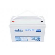 Аккумуляторная батарея LogicPower 12V 100AH (LPM-MG 12 - 100 AH) AGM мультигель
