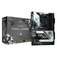 ASRock X570 Steel Legend Socket AM4 - X570 Steel Legend