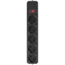 Фильтр питания Maxxter 5 розеток 3м (SPM5-G-10B) черный - SPM5-G-10B