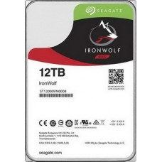 HDD SATA 12.0TB Seagate IronWolf NAS 7200rpm 256MB (ST12000VN0008) - ST12000VN0008