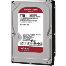 HDD SATA 2.0TB WD Red NAS 5400rpm 256MB (WD20EFAX) - WD20EFAX