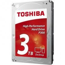 HDD SATA 3.0TB Toshiba P300 7200rpm 64MB (HDWD240UZSVA) - HDWD240UZSVA