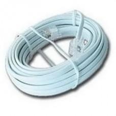 Кабель телефонный Cablexpert (TC6P4C-3M) CCA, 6P4C, 3м, серый
