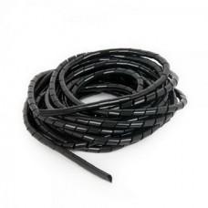 Кабельный органайзер Cablexpert (CM-WR1210-01) 12мм, 10м, черный