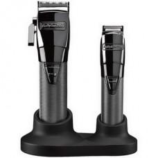 Машинка для стрижки Babyliss Pro FX8705E GunSteel FX Grooming Set
