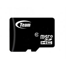 MicroSDHC   4GB Class 10 Team + SD-adapter (TUSDH4GCL1003)
