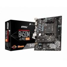 MSI B450M-A Pro Max Socket AM4 - B450M-A Pro Max