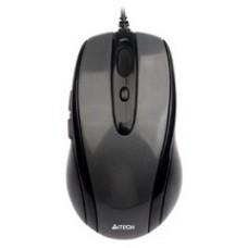 Мышь A4 N-708X-1 Glossy grey USB V-Track - N-708X-1 (Black)