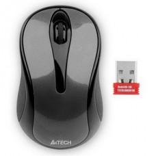 Мышь беспроводная A4Tech G3-280N Grey USB V-Track - G3-280N (Glossy grey)